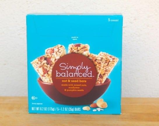 Box of Simply Balanced Bars