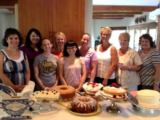 The Clandestine Cake Club (Phoenix Chapter) Summer Cakes Gathering Where I Ate Too Much Cake
