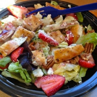 Is Culvers Strawberry Salad a Healthy Lunch Option?