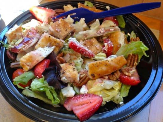Culvers Strawberry Salad
