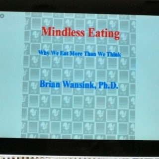 Mindless Eating Ebook Cover