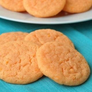 Orangesicle Cookie Mix Cookies