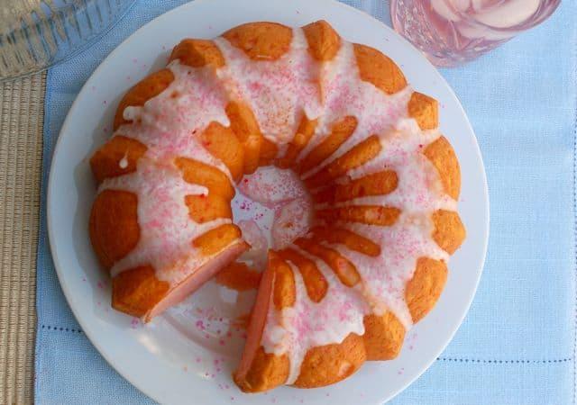 Lemonade Bundt Cake From Scratch