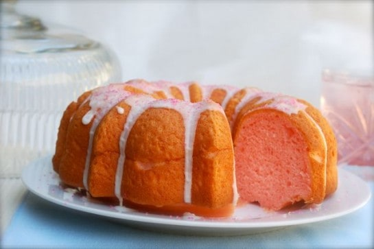 Pink Lemonade Bundt Cake - 8 Weight Watchers Freestyle SmartPoints