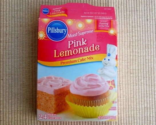 Pink Lemonade Cake Mix