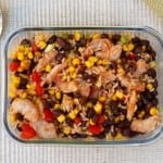 Southwestern Shrimp Black Bean Salad - 6 Weight Watchers SmartPoints