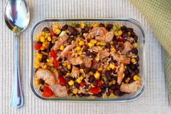 Shrimp Black Bean Salad | Easy Healthy Weight Watchers Recipes