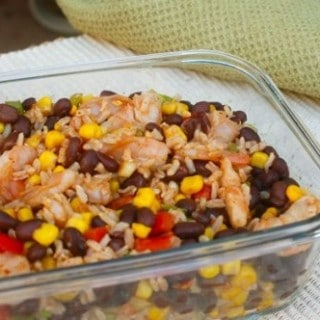 Southwest Shrimp Black Bean Salad – 6 SmartPoints