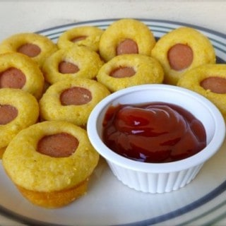 Skinny Mini Corn Dog Muffins