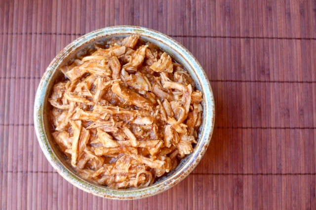 Slow Cooker Pulled Pork Loin w/ Weight Watchers Points
