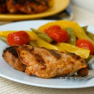 Spicy Grilled Chicken Thighs – 4 SmartPoints