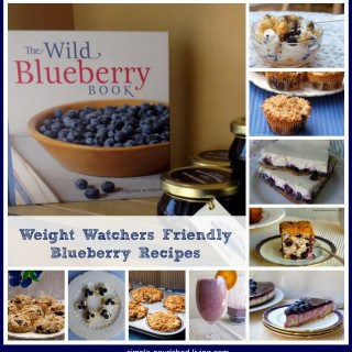Sunday Sampling: Weight Watchers Blueberry Recipes
