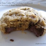 Favorite Easy Cae Mix Cookies Cookbook Nutritional Information & Weight Watchers PointsPlus