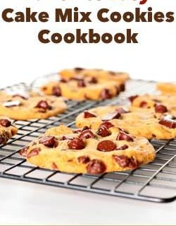 Favorite Easy Cake MIx Cookies Nutrition & Weight Watchers PointsPlus