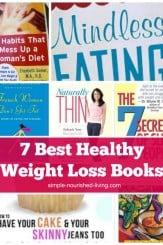 7 Best Healthy Weight Loss Books Collage