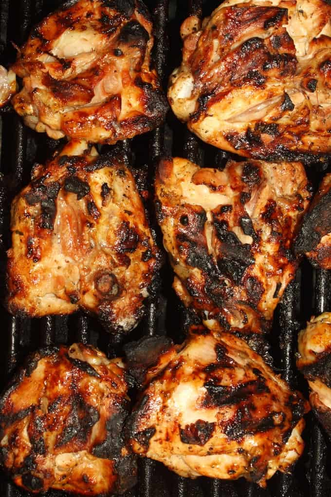 WW Friendly Spicy Grilled Chicken Thighs