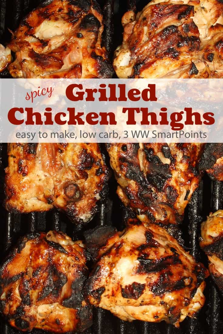 Spicy Grilled Chicken Thighs Recipe Simple Nourished Living