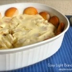 Easy Light Banana Pudding