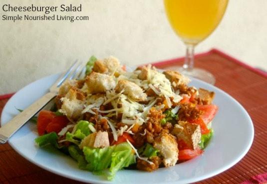 Cheeseburger Salad | Weight Watchers Friendly Recipes