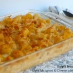Light Macaroni & Cheese with Cauliflower