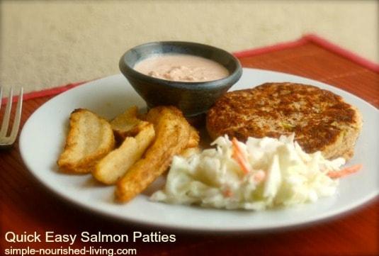 Quick Easy Salmon Patties
