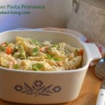 Slow Cooker Pasta Primavera weight watchers smart points 9