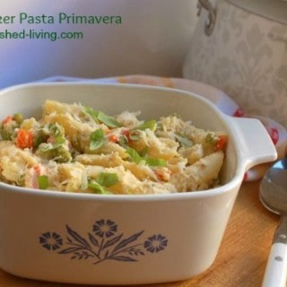 Light & Creamy Slow Cooker Pasta Primavera