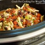 Crock Pot Cooking for Weight Loss
