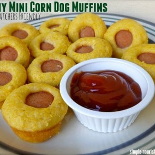 Skinny Mini Corn Dog Muffins – 3 WW Freestyle SmartPoints