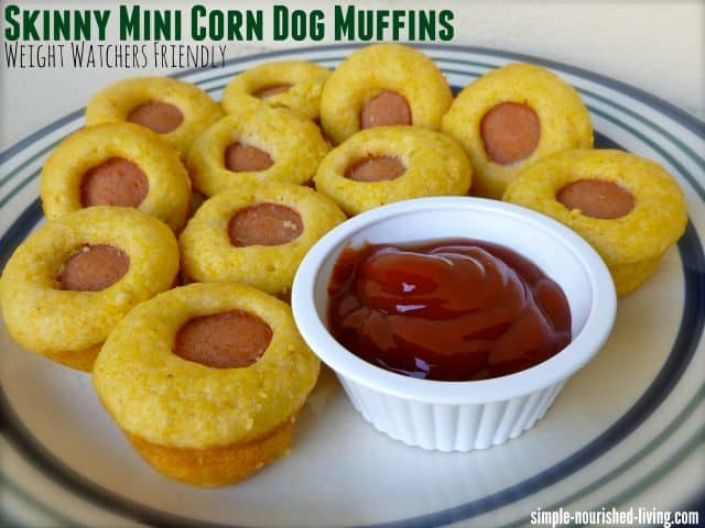 skinny mini corn dog muffins for Weight Watchers