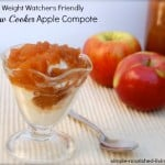 Crock Pot Apple Compote