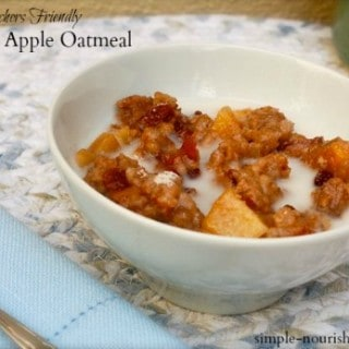 Crock Pot Apple Oatmeal