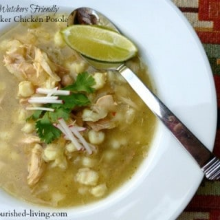 Easy Slow Cooker Chicken Posole Soup – 4 SmartPoints