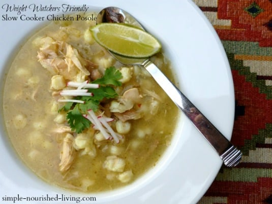 Ww Freestyle Recipe Easy Slow Cooker Chicken Posole Soup