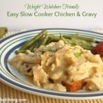 Easy Slow Cooker Chicken & Gravy
