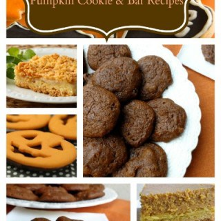 Healthy Low Fat Pumpkin Cookie and Bar Recipes