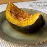 Slow Cooker Acorn Squash