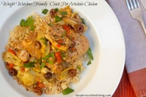 Slow Cooker Artichoke Chicken