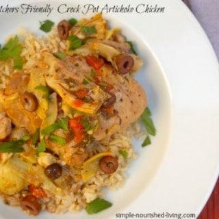Slow Cooker Artichoke Chicken