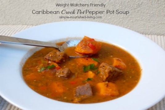 Crock Pot Pepper Pot Soup