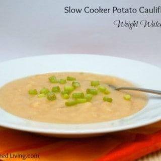 Slow Cooker Potato Cauliflower Soup