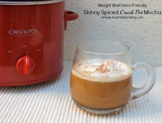 Slow Cooker Spiced Mocha text