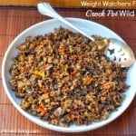 Crock Pot Wild Rice