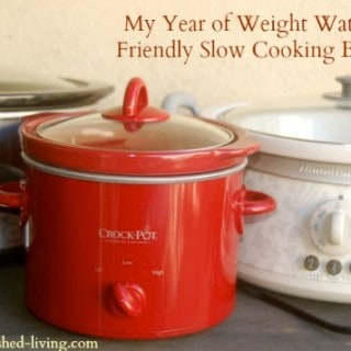 Weight Watchers Friendly Crock Pot Cooking