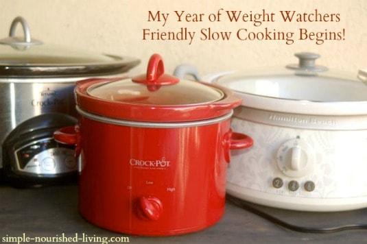Weight Watchers Friendly Crock Pot Cooking