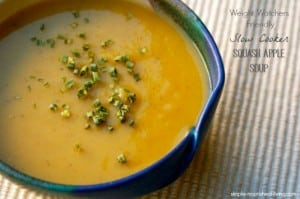 Crock Pot Squash Apple Soup