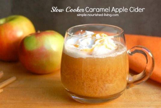 Weight Watchers Apple Dessert Recipes - Slow Cooker Caramel Apple Cider