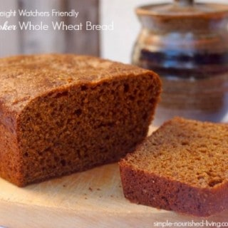 Slow Cooker Whole Wheat Bread with Molasses