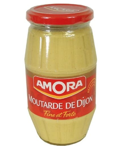 Jar of Amora Dijon Mustard