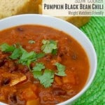 Weight Watchers Slow Cooker Black Bean Chili is Simply Filling
